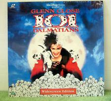 101 Dalmatians (1996) PAL Laser Disc,Walt Disney Live Action, Glenn Close EE1191