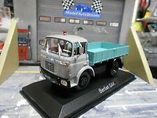 BERLIET GAK Pritsche grau grün 1960 Truck LKW Camion Norev S-Preis 1:43