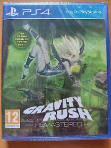 Gravity Rush Remastered PS4 UK Pal New & Sealed