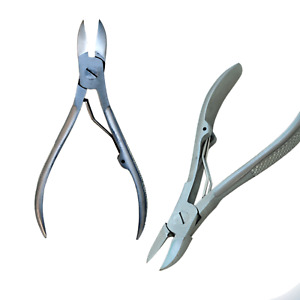 Professional Toe Nail Clipper Cutter Nippers Smooth Steel Heavy Duty Thick Nails