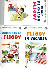 fliggy stock 3 libri 9,50 euro - i rosicchia favole-La spiga-bambini 4-6 anni