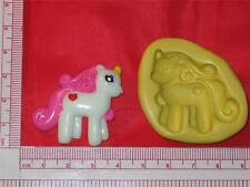 Silicone Mold My Little Pony A758 Chocolate Fondant Gum Paste Cake Pop Candy