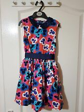 M&S  Printed Floral Girls Dress Size (5-6)