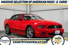 2014 Ford Mustang  2014 Ford Mustang  90844 Miles Race Red 2D Convertible 3.7L V6 Ti-VCT 24V 6-Spee