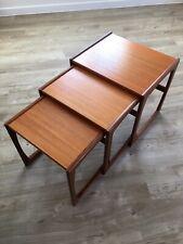 G Plan Nest Of Tables - Teak