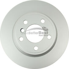 One New OPparts Platinum Disc Brake Rotor Rear 40206169 for BMW X5