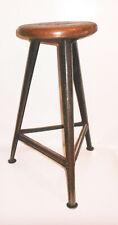 XL Rowac Hocker Barhocker 72 cm Industrie Werkstatt Design Vintage !