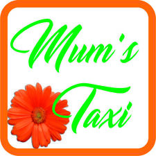 Mum's Taxi Sticker Vinyl Baby on board sign for car van Waterproof UV proof V3