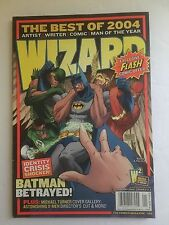 WIZARD THE COMICS MAGAZINE JAN 2005 NO.159 COMICS GUIDE COVER 2 OF 3 COLLECTIBLE