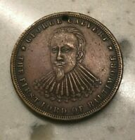 1730-1880 City of Baltimore Medal - 150th Anniversary - George Calvert