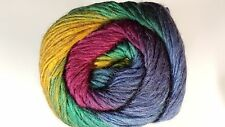 King Cole Riot DK #401 Cool Blend Self Striping Yarn