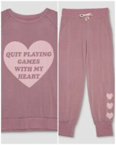 1X Backstreet Boys QUIT PLAYING GAMES WITH MY HEART Pajama Plus Size Target BSB