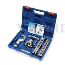 5-19mm Flaring Flare Tool Kit Refrigeration Eccentric Cone With Pipe Cutter New