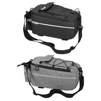 B-SOUL Bicycle Bag Bike Rear Rack Bag Package Bicycle Shelf Utility Pocket A#S