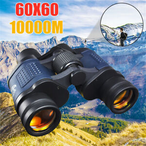 60X60 Powerful Binoculars HD 10000M High Magnification Telescope For Outdoor