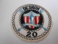 USAF  / USN      cloth patch  DESRON 20