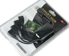 Smart Mini USB de alta velocidad 4 Puerto Hub 1 puertos obtener 4 puertos de uso libre Multi USB 2.0