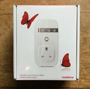 """Vodafone Sure Signal V3 Signal Booster (White ) """"Transform your home or office"""""""