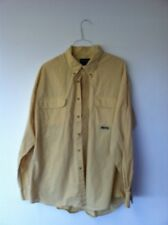 Duck Head Button down shirt yellow color xl