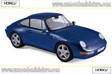 Porsche 911 Carrera de 1994 Irisblue Metallic NOREV - NO 187593 - Echelle 1/18