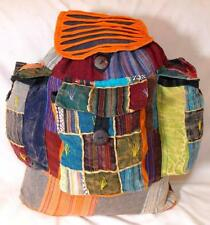 FAIR TRADE HIPPY BOHO FESTIVAL HIPPIE ETHNIC RUCKSACK / BACKPACK FROM NEPAL