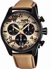 Alpina Men's Startimer Pilot Camouflage Dial Chrono Quartz Watch AL372MLY4FBS6