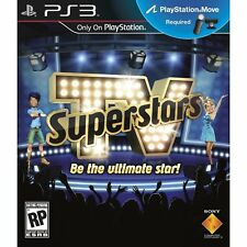TV Superstars PS3 Move Game New Sealed