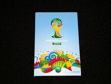 "Fußball WM-Magnet ""Logo"" FIFA World-Cup 2014 Brazil tm WC Brasilien Brasil"