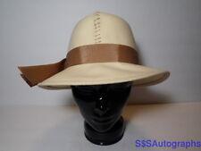Vintage Women's SIZE 23 JUNIOR SEASONS New York Dress Hat IVORY BUCKET FELT CAP