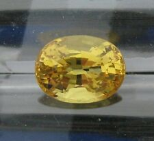 1.93 CT. NATURAL CANARY YELLOW CEYLON SAPPHIRE OVAL