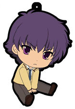 Angel Beats Noda Rubber Cell Phone Strap Licensed NEW