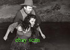 "JANE RUSSELL & THOMAS MITCHELL Vintage Original 11X14 Photo ""OUTLAW"" FILM DEBUT"