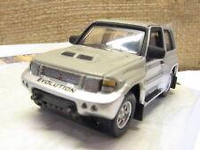 Cararama Mitsubishi Pajero Evolution- 3 Door Silver / Grey -1/72 Scale New Boxed