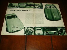 1955 DEVIN SPORTS CAR  ***ORIGINAL ARTICLE***