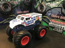 Hot Wheels Monster Jam Truck 1/64 Rare Diecast Metal Ice Cream Man