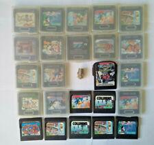 sega jeux video game gear GG No mega drive/saturn/dreamcast/mega cd/nomad loose
