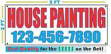 HOUSE PAINTING w CUSTOM PHONE Banner Sign NEW Larger Size Best Quality for the $