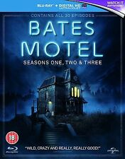 Bates Motel Complete Collection 1-3 Blu Ray Box Set All Seasons 1 2 3 UK NEW R2