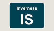 1x Inverness Train Depot Sticker/Decal 100 x 77mm
