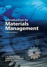 Introduction to Materials Management by J. R. Tony Arnold, Stephen N. Chapman a…