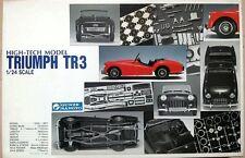 Brand New Unstarted 1/24 Gunze Sangyo High-Tech Triumph Tr3 Model Kit