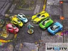 Micro art studios bnib city cars set (6) T00088