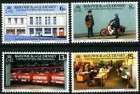 GUERNSEY 1979 POST OFFICE SET OF ALL 4 COMMEMORATIVE STAMPS MNH (G)