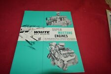 White Truck Super Mustage Engines Dealer Brochure YABE20