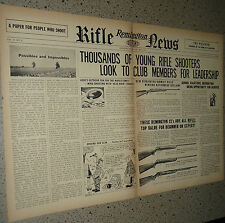 1958 Remington Model 722, 510. 511, 512 Rifle Centerfold Ad