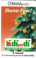 CHIAMAGRATIS - BUONE FESTE - DI PER DI - VALIDITA' DAL 18/12/2002  AL 18/03/2003
