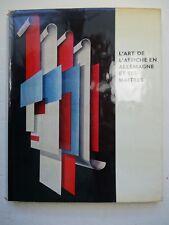 Rademacher, H. L'art de l'affiche en Allemagne / German poster 1965 Manoli