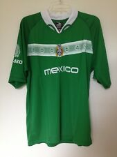World Cup 2006 Mens Retro Mexico Soccer Football Jersey-Green - Large Fb#2