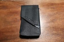 Genuine Olympus M Mju -1 Compact Camera Leather Carrying Case Pouch New 13x7x3cm