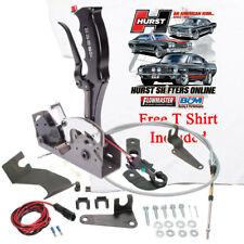 Hurst Black Pistol Grip Quarter Stick Shifter Chrysler AMC Ford Reverse, FREE T